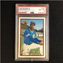 1989 BOWMAN #220 KEN GRIFFEY JR. (NM-MT 8)