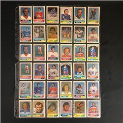 1975-76 WHA HOCKEY CARD LOT