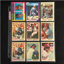 1970s BASEBALL CARD LOT