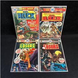 SGT. ROCK/ FIGHTIN' FORCES COMIC BOOK LOT (DC COMICS)