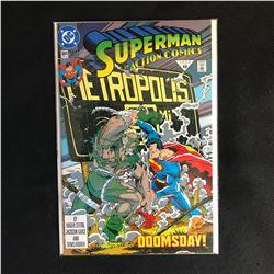 SUPERMAN in Action Comics 684 (DC COMICS)
