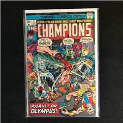The CHAMPIONS 3 (MARVEL COMICS)