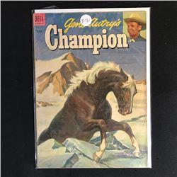 Gene Autry's CHAMPION 12 (DELL COMICS)