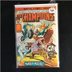 The CHAMPIONS 4 (MARVEL COMICS)
