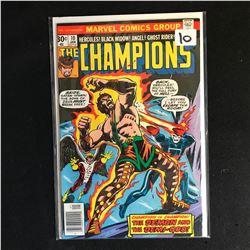 The CHAMPIONS 10 (MARVEL COMICS)