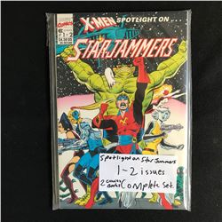 SPOTLIGHT on STAR JAMMERS 1-2 (MARVEL COMICS) *COMPLETE 2 ISSUE SET*