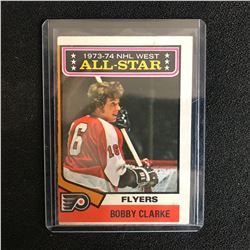 Bobby Clarke All-Star 1974-75 O-Pee-Chee NHL Hockey Card #135
