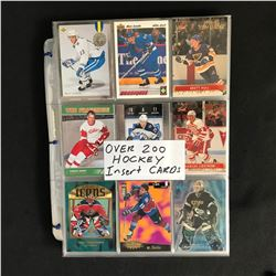 200+ HOCKEY INSERT CARDS