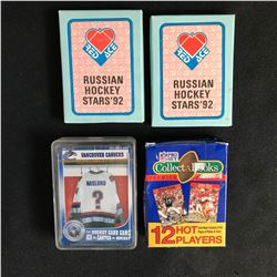 HOCKEY/ FOOTBALL TRADING CARDS