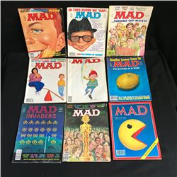VINTAGE MAD MAGAZINE LOT