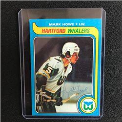 MARK HOWE SIGNED VINTAGE HOCKEY CARD
