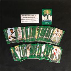 2007 UPPER DECK HOLIDAY INN BASEBALL CARDS