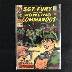 SGT. FURY and his HOWLING COMMANDOS 58 (MARVEL COMICS)