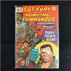SGT. FURY and his HOWLING COMMANDOS 89 (MARVEL COMICS)