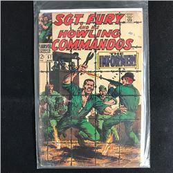 SGT. FURY and his HOWLING COMMANDOS 57 (MARVEL COMICS)