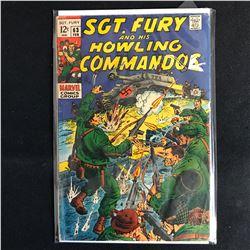 SGT. FURY and his HOWLING COMMANDOS 63 (MARVEL COMICS)