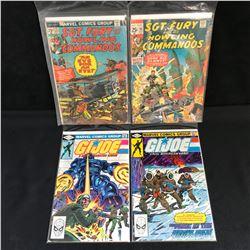 SGT. FURY/ G.I JOE COMIC BOOK LOT
