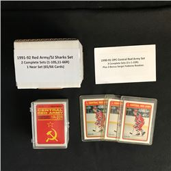 1990s HOCKEY CARD SETS LOT