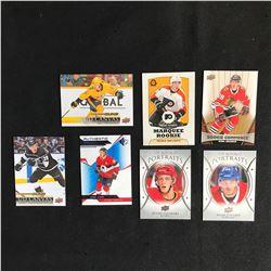 NHL HOCKEY ROOKIES CARD LOT