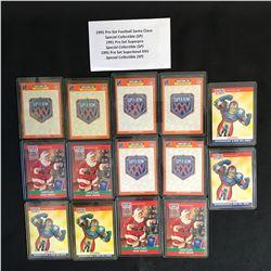 1991 PRO SET FOOTBALL CARD LOT