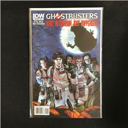 GHOSTBUSTERS What in Samhain Just Happened?! (IDW COMICS)