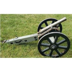 "Custom Made 1.5"" Bore Military Reenactment Cannon"