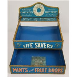 Lifesavers Tin Candy Store Counter Display