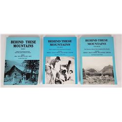 Behind These Mountains Montana 3 Volume Book Set