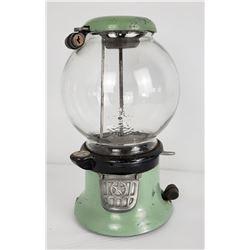 Rare Mint Green Columbus Star Gumball Machine