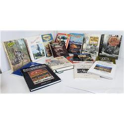 Lot of 16 Northwest Railroad Logging History Books
