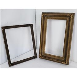 Pair of Arts & Crafts Gesso Frames