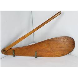 Antique Wood Sailboat Rudder Tiller