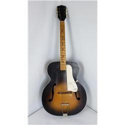 Vintage Kay Archtop Sunburst Acoustic Guitar