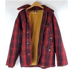 Red Mackinaw Wool Woolrich Hunting Jacket Coat