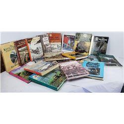 Lot of 20 Northwest Railroad Logging History Books