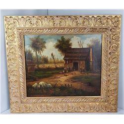 Plantation Painting Manner of William Aiken Walker