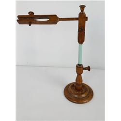 Antique Apothecary Vial Beaker Holder Boxwood