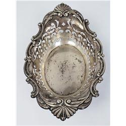Gorham Pierced Sterling Silver Bon Bon Dish