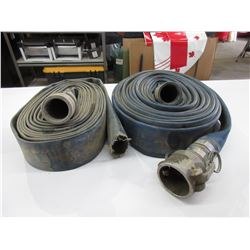 2 Length's of Flat Hose with 3 Ends