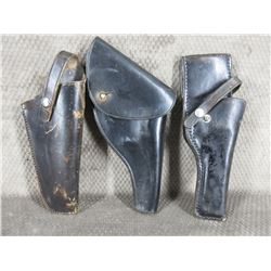 3- Leather Holsters