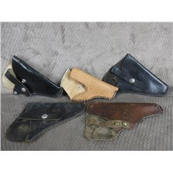 5- Leather Holsters