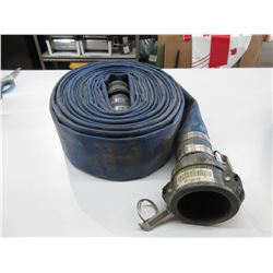 Flat Hose Approximately 50 Feet with Ends