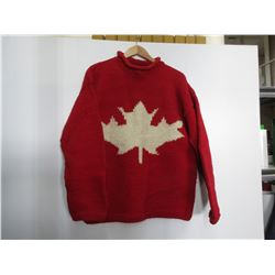 100 % Wool Sweater made in Equador