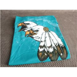 T-Shirt L with 2 Eagle Heads