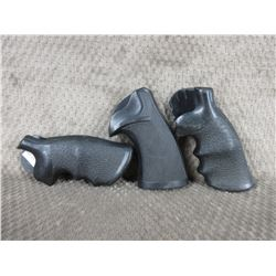 3 Rubber Pistol Grips
