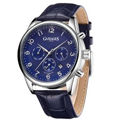 GAMAGES OF LONDON Limited Edition Hand Assembled Enigmatic Automatic Steel