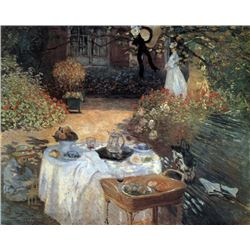 Claude Monet - The Lunch #2