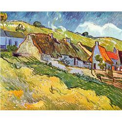 Van Gogh - Huts In Auvers