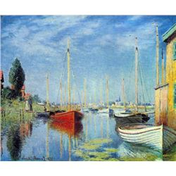 Claude Monet - Pleasure Boats at Argenteuil