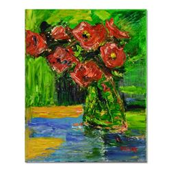 Vase with Poppies by Fallas Original